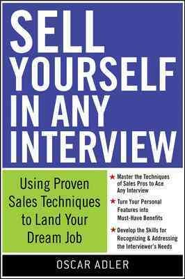 Sell Yourself in Any Interview book cover