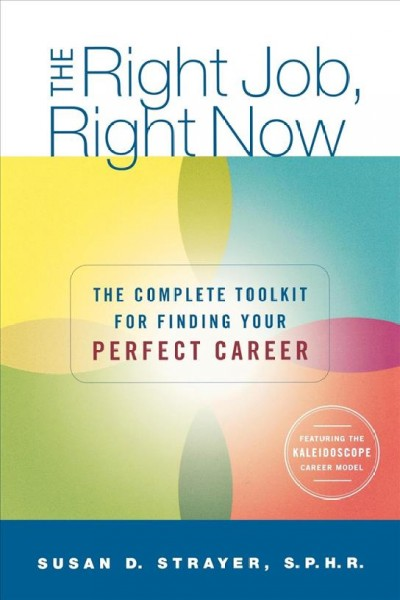 The Right Job Right Now book cover