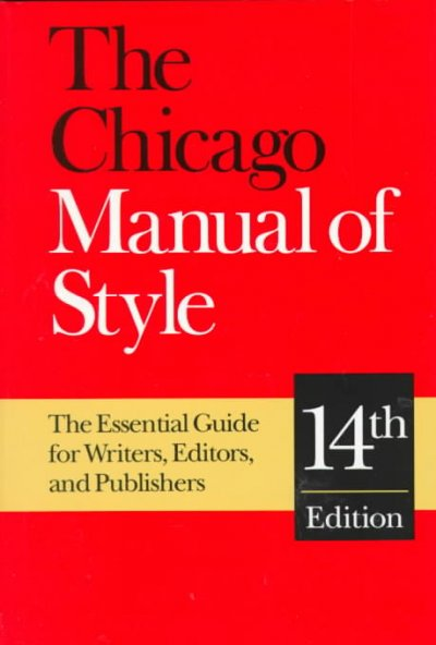 chicago manual style essay