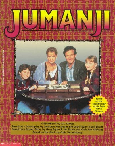 jumanji by chris van allsburg book review
