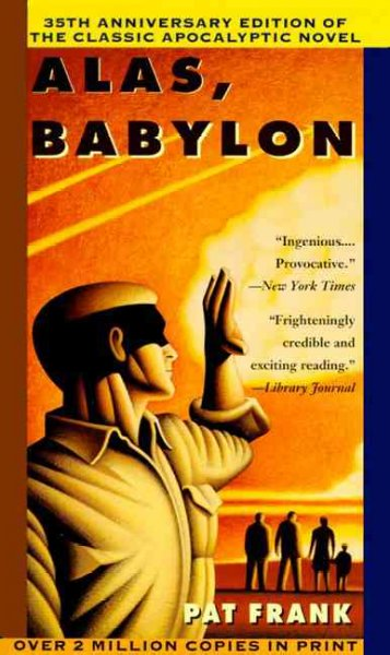 the effects of cozy apocalypse in alas babylon an apocalyptic novel by pat frank The definitive science fiction television encyclopedia 3rd edition introduction welcome to the ultimate science fiction television encyclopaedia, through.