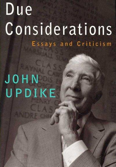 critical analysis of john updikes ap