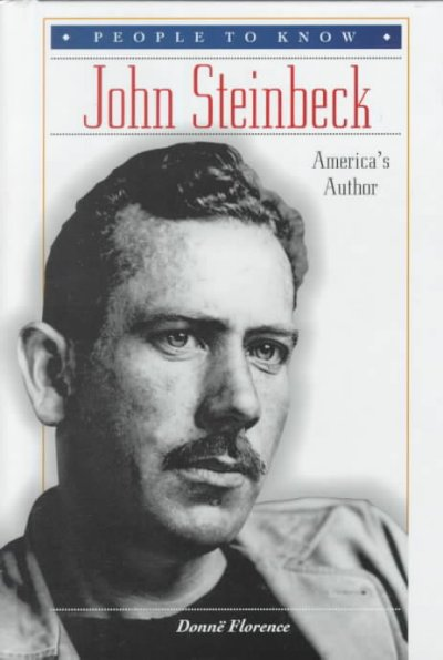 a biography and works of art by john steinbeck an american novelist