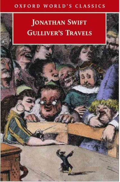 a description of the written criticism of the society in the tale of gullivers travels