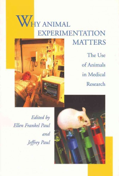 the christian perspective on the issue of animal experimentation in medical research How much does the public support animal research depends experimentation so long as it is for medical view of the need for animal research.