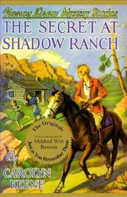 the secret of shadow ranch book report The secret of shadow ranch is the tenth installment in the nancy the game is based on the best-selling nancy drew book of all time, the secret at shadow ranch.