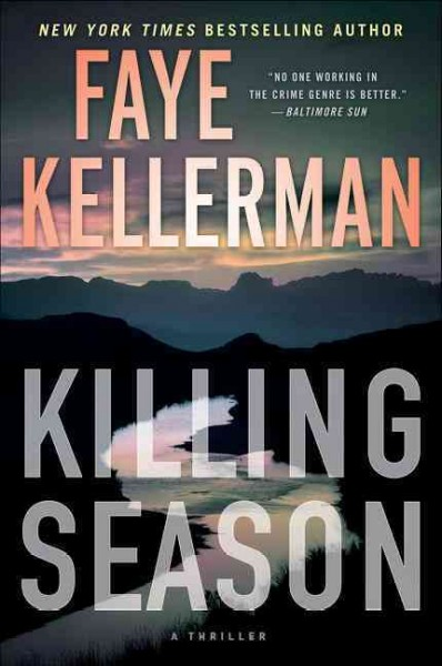 Killing season : a thriller - LaGrange County Public Library