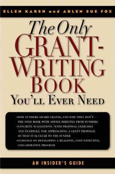 grant writing books Find highly recommended best grant writing books, grant proposal books, from bestseller amazon store at discounted price.