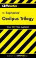 Go to record CliffsNotes Sophocles' Oedipus trilogy