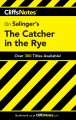 Go to record CliffsNotes Salinger's The catcher in the rye