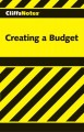 Go to record Cliffsnotes Creating a Budget.