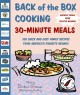 Go to record Back of the box cooking : 30 minute meals : 500 delicious,...