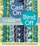 Go to record Cast on bind off : 54 step-by-step methods