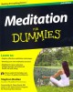 Go to record Meditation for dummies