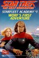 Go to record Worf's first adventure
