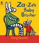 Go to record Za-Za's baby brother