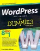 Go to record WordPress all-in-one for dummies