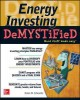 Go to record Energy investing demystified