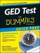 Go to record Ged test for dummies, quick prep edition