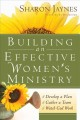 Go to record Building an effective women's ministry