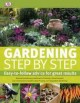 Go to record Gardening step by step