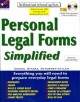 Go to record Personal legal forms simplified / The Ultimate Guide to Pe...