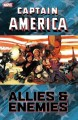 Go to record Captain America. Allies & enemies