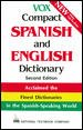 Go to record Vox compact Spanish and English dictionary : English-Spani...
