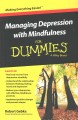 Go to record Managing depression with mindfulness for dummies
