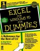 Go to record Excel for Windows 95 for dummies