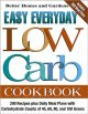 Go to record Easy everyday low carb cookbook.