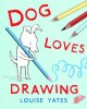 Go to record Dog loves drawing