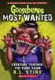 Go to record Creature teacher : the final exam