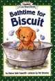 Go to record Bathtime for Biscuit