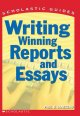 Go to record Writing winning reports and essays